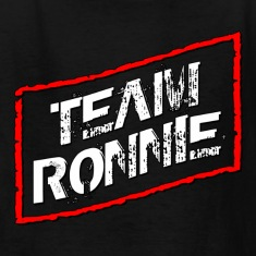 Black Team Ronnie Jersey Shore Kids' Shirts