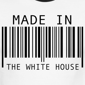 White/black Made in The White House T-Shirts - Men's Ringer T-Shirt
