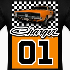 Black Dodge Charger - AUTONAUT.com T-Shirts