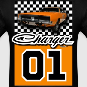 Black Dodge Charger - AUTONAUT.com T-Shirts - Men's T-Shirt