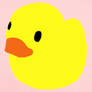 Design ~ duckie - pink