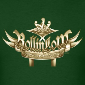 Rollin Low Plaque (2) by RollinLow T-Shirts - Men's T-Shirt
