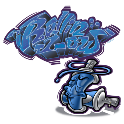 Rollin Low Graffiti Can by RollinLow