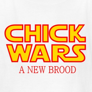 White Chick Wars: A New Brood Chickens Kids' Shirts - Kids' T-Shirt