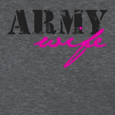 Deep heather army wife Women's T-Shirts