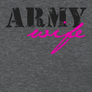 Deep heather army wife Women's T-Shirts - Women's T-Shirt