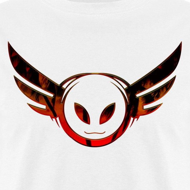 Betamorph Recordings Alien Logo T | sunset plams