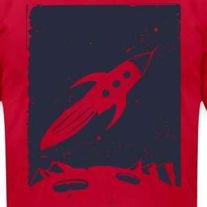 Space Explorer - Men's T-Shirt by American Apparel