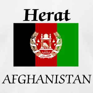 Herat, Afghanistan Flag - Men's T-Shirt by American Apparel