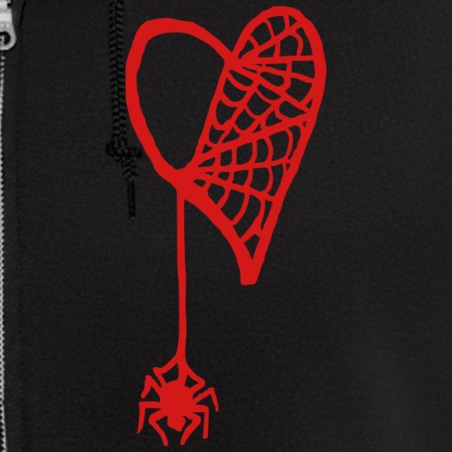 Cobweb Heart Hoodie