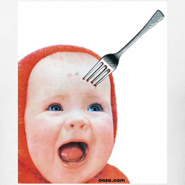 Baby with Fork in Head