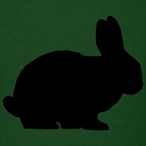 Forest green Bunny T-Shirts - Men's T-Shirt
