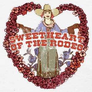 SWEETHEART OF THE RODEO - Women's T-Shirt
