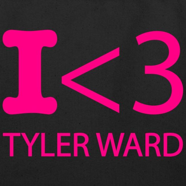 I heart Tyler Ward tote