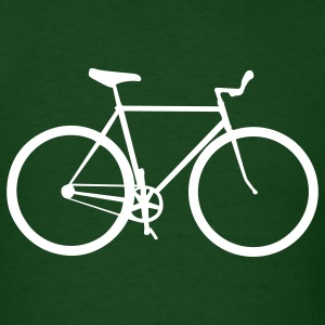 Forest green bicycle T-Shirts - Men's T-Shirt
