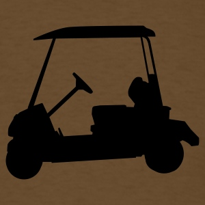 Brown Golf - Golf car T-Shirts - Men's T-Shirt