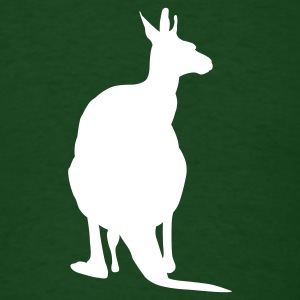 Forest green Kangaroo - Australia T-Shirts - Men's T-Shirt