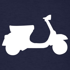 Navy motorcycle - moped T-Shirts - Men's T-Shirt