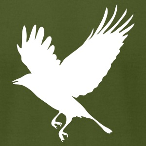 Olive Crow - Blackbird T-Shirts - Men's T-Shirt by American Apparel