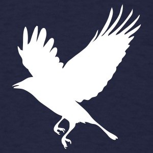 Navy Crow - Blackbird T-Shirts - Men's T-Shirt