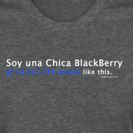 Design ~ Soy Una Chica BlackBerry - FB