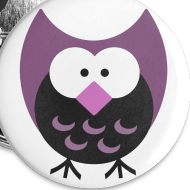Design ~ Old School Night Owl Button