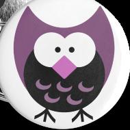 Design ~ Old School Night Owl Button
