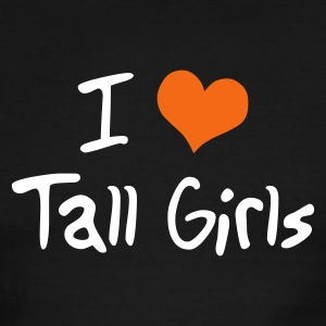 I Love Tall Girls - Men's Ringer T-Shirt