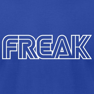 Royal blue Freak T-Shirts - Men's T-Shirt by American Apparel