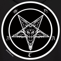 Sigil of Baphomet Pentagram Hoodies