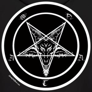 Sigil of Baphomet Pentagram Hoodies - Men's Hoodie