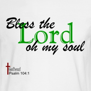 White psalm_104c Long Sleeve Shirts - Men's Long Sleeve T-Shirt