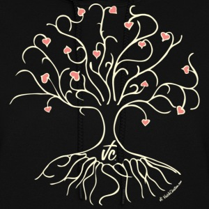 Black VC Tree of Love Hoodies - Women's Hoodie