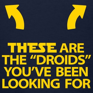 Female Droids tee - Women's T-Shirt