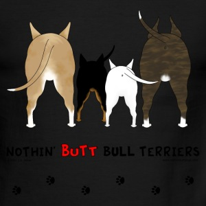 Nothin' Butt Bull Terriers T-shirt - Men's Ringer T-Shirt