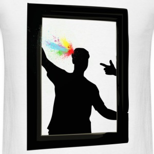 White Shot of Color T-Shirts - Men's T-Shirt