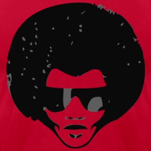 Afro - Men's T-Shirt by American Apparel
