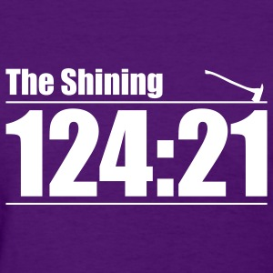 Purple The Shining: Here's Johnny! Women's T-Shirts - Women's T-Shirt