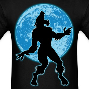 Werewolf and moon T-Shirts - Men's T-Shirt