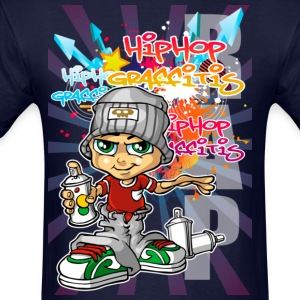 Graffiti boy background T-Shirts - Men's T-Shirt