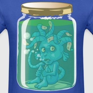 Alien in jar T-Shirts - Men's T-Shirt