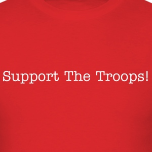 Support The Troops Basic T - Men's T-Shirt