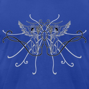 guardianangels2_warp_copy T-Shirts - Men's T-Shirt by American Apparel