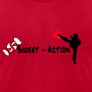 Sweet Action - Men's T-Shirt by American Apparel