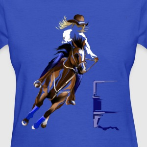Barrel Horse - Women's T-Shirt