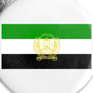 Islamic State of Afghanistan Flag, 1992-1996, 2001-2002 - Large Buttons