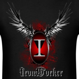 ironworker_wings T-Shirts - Men's T-Shirt