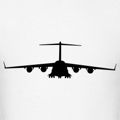 White airplane aircraft T-Shirts