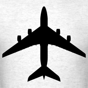 Light oxford airplane aircraft T-Shirts - Men's T-Shirt