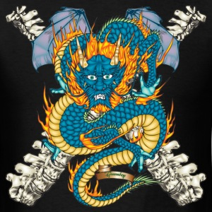 Black Dragon Tattoo T-Shirts - Men's T-Shirt